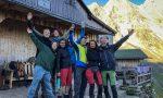 Gruppenfoto vor der Greizer Hütte