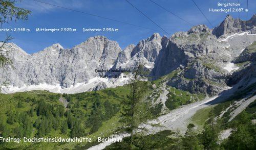 Artikelbild zu Artikel Wanderwoche der Sonntags- und Donnerstagswanderer in Ramsau am Dachstein 07.2020